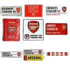 ARSENAL METAL SIGNS (Metal Door Sign, Street Sign)Official Club Merchandise