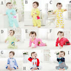 Size 0-18Mth Outfit Baby Boy Girl Cartoon Cotton Bodysuit Costume Romper Clothes