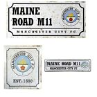 MANCHESTER CITY  RETRO METAL SIGNS ( Street ,Door)Official Club Merchandise