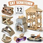 Cat Scratcher Kitten Pet Claw Scratching Corrugated Cardboard Scratch Post