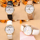 Fashion Women's Letter Casual Leather Waterproof Watch Analog Quartz Wrist Watch
