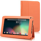 7'' Quad Core Tablet IPS Android 4.4 8GB Bluetooth WiFi 2 Cam Bundle Refurbished