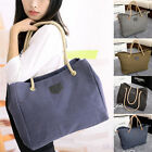 Womens Fashion Hobo Canvas Messenger Casual Lady Shoulder Bag Totes Purse Medium