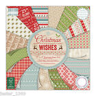 First Edition 6x6 Premium Paper Pad - CHRISTMAS WISHES - Free UK p&p