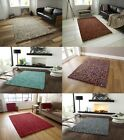 Pebbles Effect Hand Knotted Large Floor Mat 100% Wool Soft Heavy Weight Rug Home