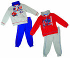 Boys Official Marvel Spiderman My City Tracksuit Jogging Suit 3 to 8 Years NEW