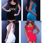 4 Colors Sexy Women Summer Casual Sleeveless Party Evening Cocktail Slim Dress