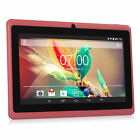 "Upgrade 7"" Google Android 4.4 1GB+16GB Tablet PC Pad Dual Cameras WiFi Bluetooth"