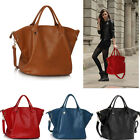 Ladies Women's Fashion Celebrity Large Tote Handbag With Long Strap Trendy Nice