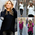 Women Long Sleeve Loose Casual Sexy Summer Shirt Tops Blouse Ladies Tee Top