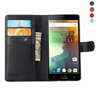 Hard Flip Stand Leather slot wallet Skin Cover Case For Oneplus 2 Two 2nd 2015
