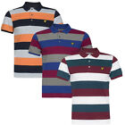 Lyle & Scott Vintage SS Block Rugby Stripe Mens Polo Shirts (SP060S U30)