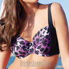 Panache Swimwear Tallulah Balconnet Bikini Top Purple Animal SW0742 Select Size