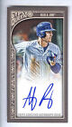 2015 Topps Gypsy Queen Mini #AR Anthony Rizzo On Card Autograph #20/25
