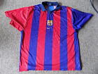 barcalona home football shirt by nike size xl