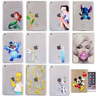 Cartoon Various Pattern Crystal Hard Protector Case Cover For Tablet iPad Series