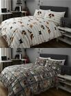 nineteen11® RANGE CHILDRENS KIDS DUVET COVERS QUILT SETS CATS DOGS PATCHWORK