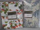 LE TELERIE TOSCANE ITALY TABLECLOTH STRAWBERRY FRUIT 66X108 COUNTRY TOILE 66X90
