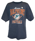 Miami Dolphins Men's M, L, XL V-Style Graphic T-Shirt NFL Navy Blue A14 on eBay