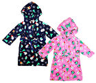 Baby Boys Girls Christmas Robe Xmas Dressing Gown with Hood 6-24 Months