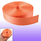 Orange Nylon 10 Meters Length Bundle Strap Band Webbing