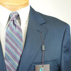 52R STEVE HARVEY  Blue SUIT SEPARATE  52 Regular Mens Suits - SS28