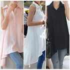 Fashion Sexy Womens Casual Loose Tops Sleeveless Blouse T-shirt Tank Vest Shirt