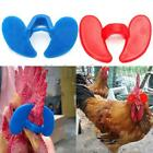 Pinless Chicken Peepers Pheasant Poultry Blinders Eye Glasses Spectacles New