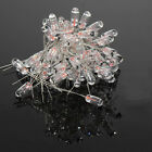 100PCS Clear 4mm 1.5V-16V 50mA-100mA  Miniature Grain of Wheat Bulbs Warm White