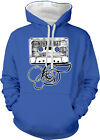 Never Forget Old School Audio Cassette Mix Tape Music 2-tone Hoodie Pullover