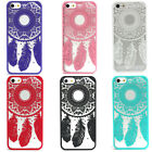 Fashion Carved Vintage Dream Catcher Campanula Hard Case For iPhone 5 5S
