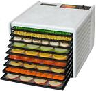 Excalibur 3900 Deluxe Food Dehydrator,  White: 9 Paraflexx Sheets,  2 Free Books