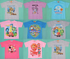 Boy Girl Inside out Paw patrol Octonauts Transformers Monster High T-Shirts 1-12