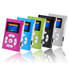 New USB Mini MP3 Player LCD Display Support 32GB Micro SD TF Card Media Player