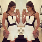 2015 Sexy Women sleeveless Party Evening Cocktail Casual Mini Dress Clothes New