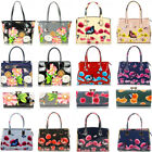 Ladies Women's Fashion Patent Designer Butterfly Print Shoulder Bags Bag Handbag