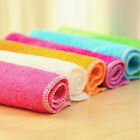 Absorbent Microfiber Towels Hand Towel Kitchen Dishcloth Dishrag Washcloth CAJR
