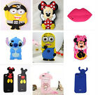 For Apple iPhone 5 6 Plus Cartoon Disney Mickey Minnie Soft Silicone Case Cover