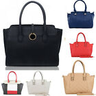 Women's Large Size Tote Bags Faux Leather Shoulder Handbags Bag For Her School