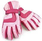 HeatGuard Girls Padded Ski Gloves with Thinsulate Lining