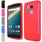 For Google LG Nexus 5X Bendable Flexible Frosted TPU Cover Case