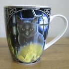 BLACK CAT MUG - BEWITCHED - LISA PARKER BONE CHINA MUG IN PRESENTATION BOX (C2)