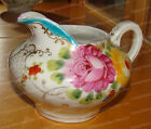 Vintage China, Hand Painted Creamer (Large Peony Flower Design) Cream Pitcher