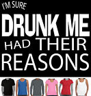 Funny T-Shirts DRUNK ME AUSSIE Party new top size charts DRINKING ALCOHOL TEE'S