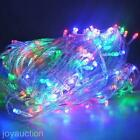 EU Plug 100 LED 10m String Fairy Light Decor Xmas Tree Valentine's Day Ornament