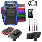 Phone Case For Alcatel Onetouch Pixi Pulsar LTE Holster USB Charger Flim Stylus