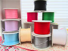 "100 yards Roll Satin Ribbon 1/8"" Craft/Supply/Gift FREE US SHIP SR18-Solid Color"