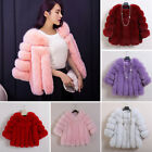 Elegant Faux Fox Fur Coat Women Winter Medium Long Short Fake Fur Coats Overcoat