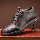 Mens Fashion Dress Shoes Height Increasing Taller Elevator Leather Casual Shoes
