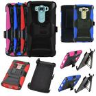 Phone Case For Verizon LG V10 AT&T, T-Mobile Holster Rugged Cover Stand